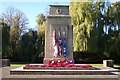 TF0919 : The War Memorial at Bourne by Rex Needle