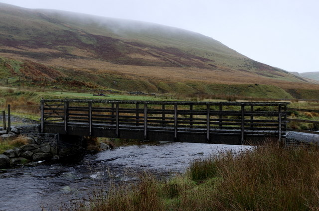 Footbridge, Afon Diliw