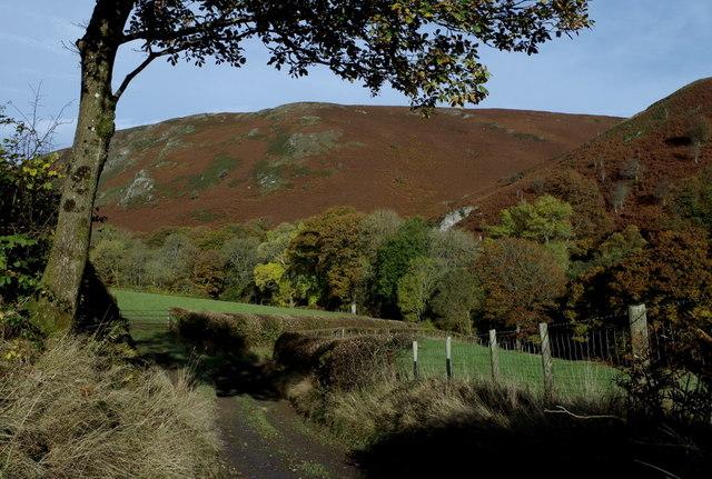 Track to Cwm Chwefri