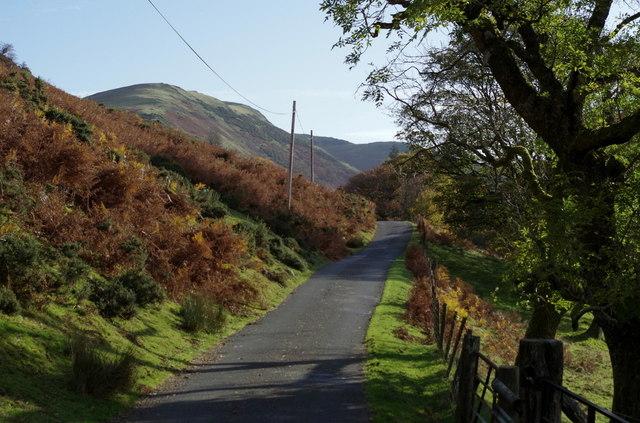 Lane, Cwm Chwefri