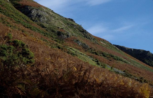 Slopes of Craig Chwefri