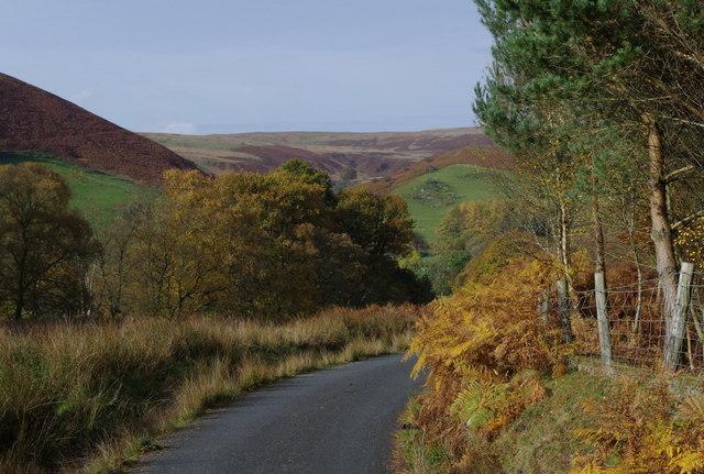 Lane corner, upper Chwefri valley