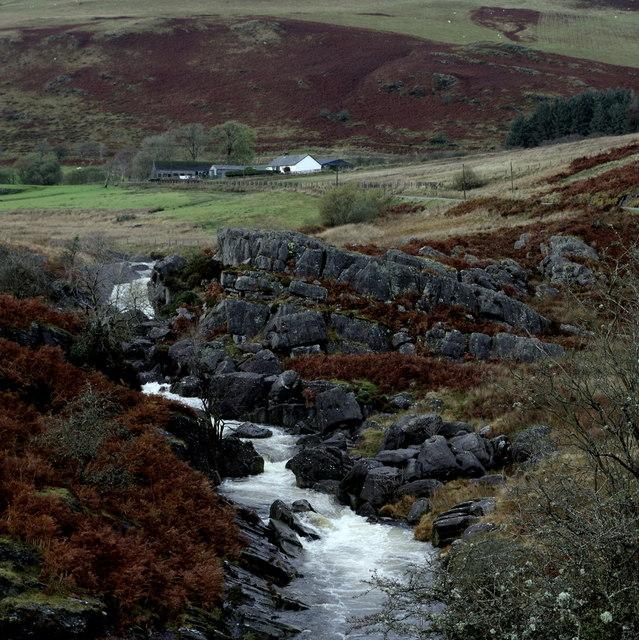 Afon Claerwen and Ciloerwynt