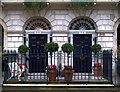 TQ2982 : Georgian doorways, Fitzroy Square : Week 47