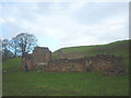 NY8012 : Ruined barn above the Belah by Karl and Ali