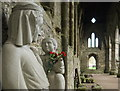 ST5399 : Virgin and Child Tintern Abbey by Nigel Mykura