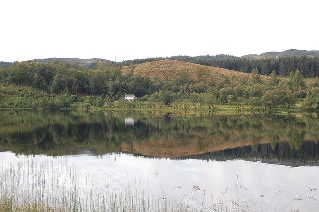 Reflections on Loch Achray