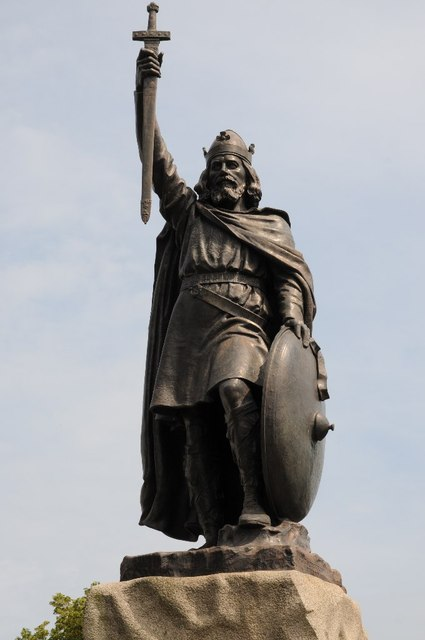 Statue of King Alfred the Great