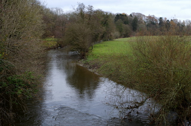 River Ithon from Llanyre Bridge