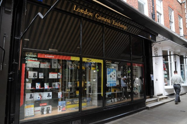 London Camera Exchange, Winchester © Philip Halling :: Geograph ...