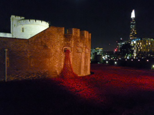 Flowing poppies, Tower of London