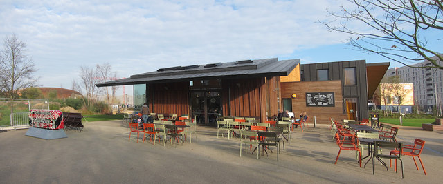 Timber Lodge Caf Queen Elizabeth Olympic Park