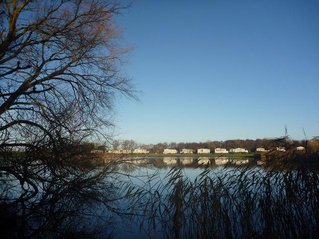 East Lothian Landscape : Seafield Pond