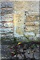 SP2927 : Benchmark on Salford Mill by Roger Templeman