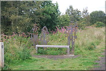 SE3058 : Seat and sculpture by N Chadwick