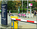 NS5965 : Nextbike Glasgow cycle hire point: University of Strathclyde (North) by Thomas Nugent