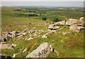 SX5384 : Rocks west of Doe Tor by Derek Harper