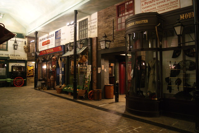 Reconstructed Street in the Abbey House Museum (2)