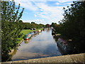 SJ5958 : Winter moorings, Shropshire Union Canal by tony young