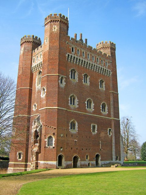 The Great Tower of Tattershall Castle