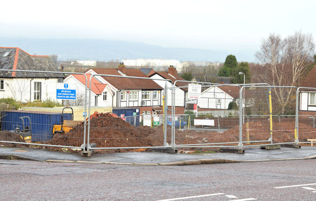 Holywood Road development site, Belfast (December 2014)