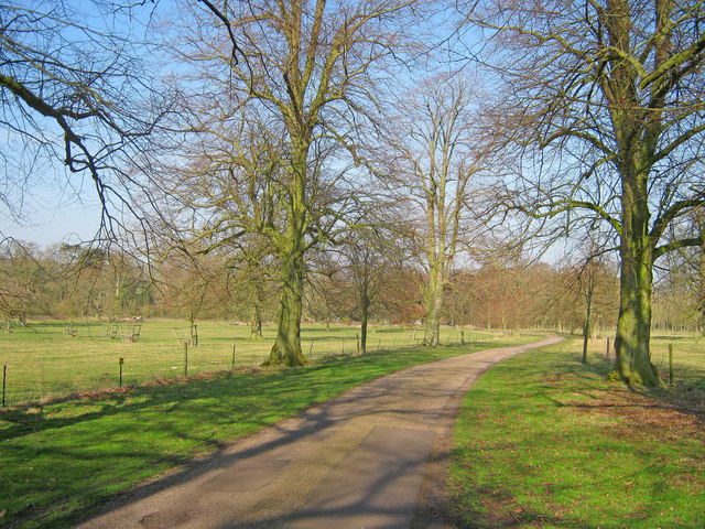 Entrance Drive to Gunby Hall