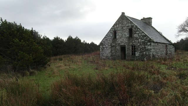 Old ruined house