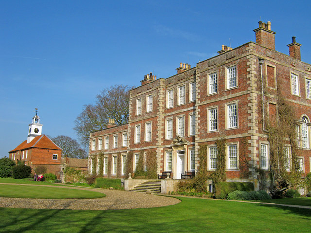 Front Elevation of Gunby Hall