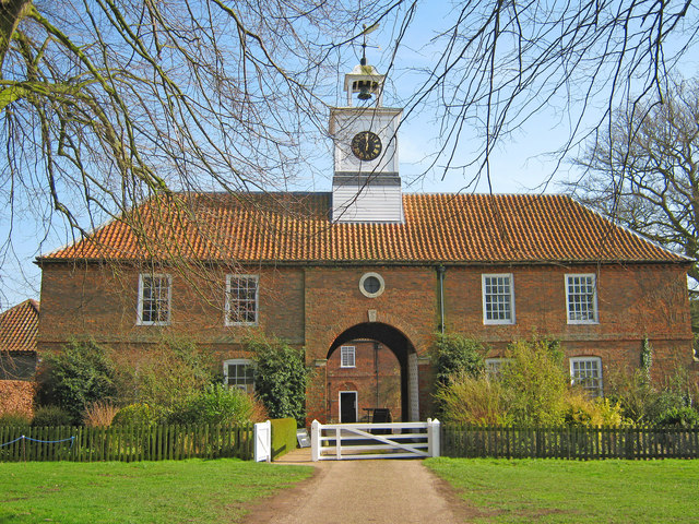 Stable block at Gunby Hall