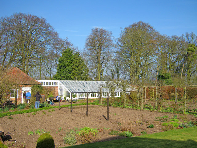 Kitchen Garden at Gunby Hall