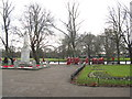 TL0549 : War Memorial and Santa Run at Bedford by M J Richardson