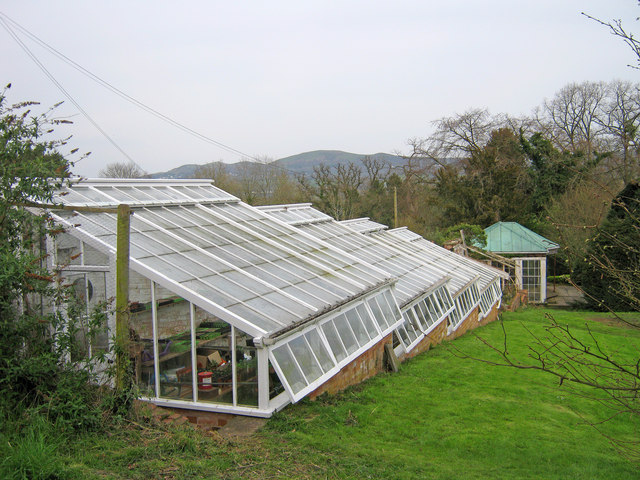 Restored Greenhouses at Old Colwall