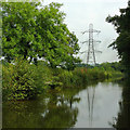 SJ9380 : Macclesfield Canal east of Adlington, Cheshire by Roger  Kidd