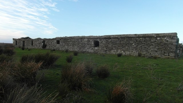 Old ruined buildings