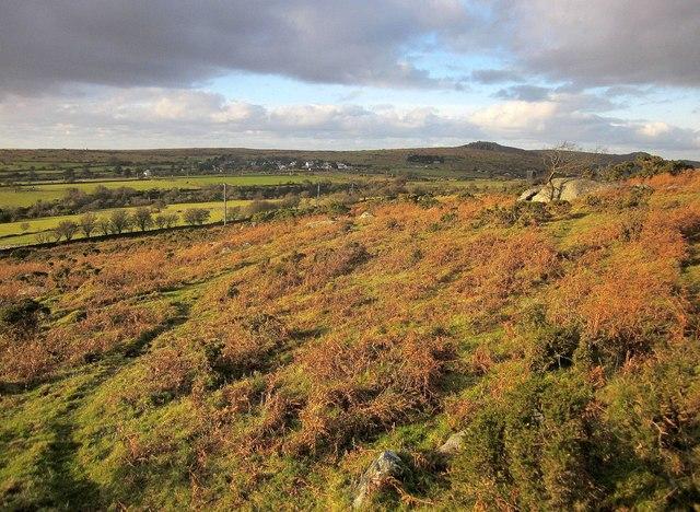Moorland near Minions