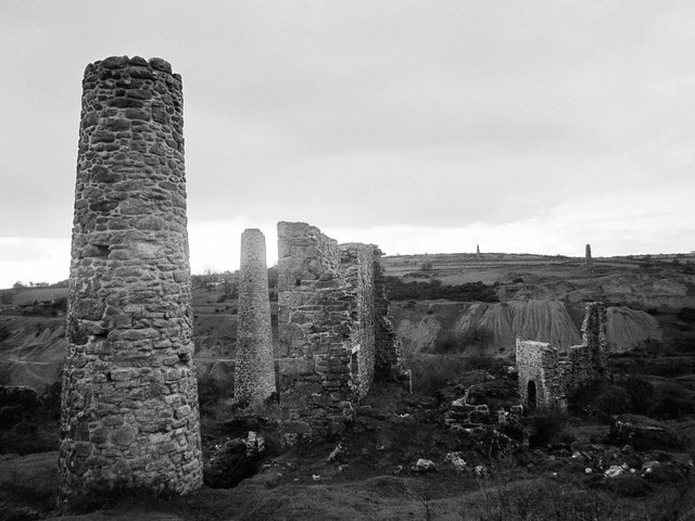 Mining relics, Caradon Hill