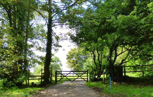 Entrance to Brookside, Fulking