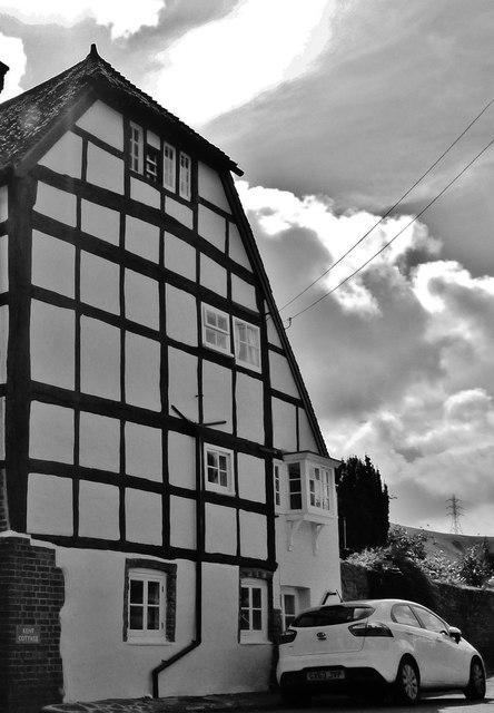 Timber framed house, Fulking