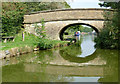 SJ9381 : Grimshaws Bridge at Fourlane Ends, Cheshire by Roger  Kidd