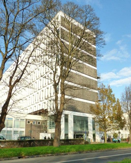 Cockcroft  Building, University of Brighton