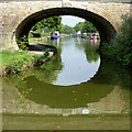 SJ9381 : Macclesfield Canal at Grimshaws Bridge, Wood Lanes, Cheshire by Roger  Kidd