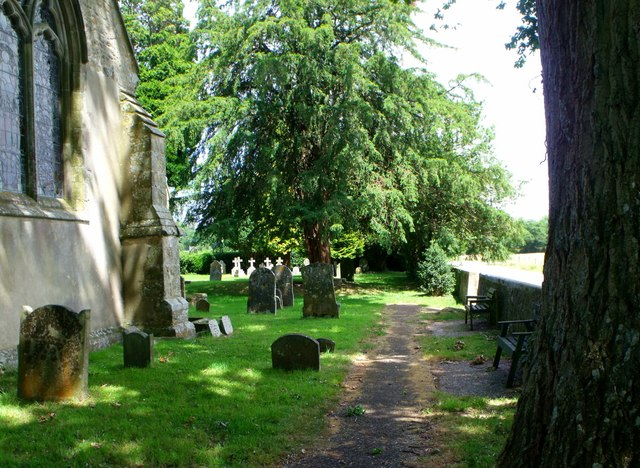 Isfield churchyard