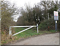 TL2157 : Hall Lane Byway to the A428 Cambridge Road by Adrian Cable