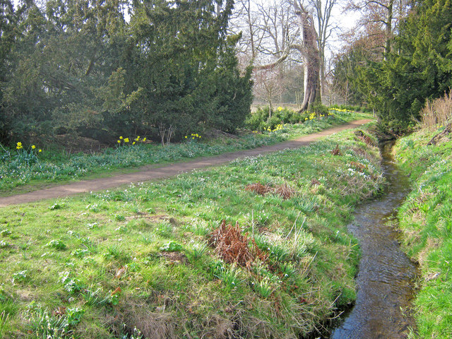 Streamside Path at Belton House Gardens