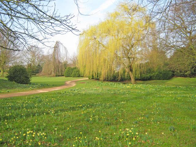 Springtime at Belton House Gardens