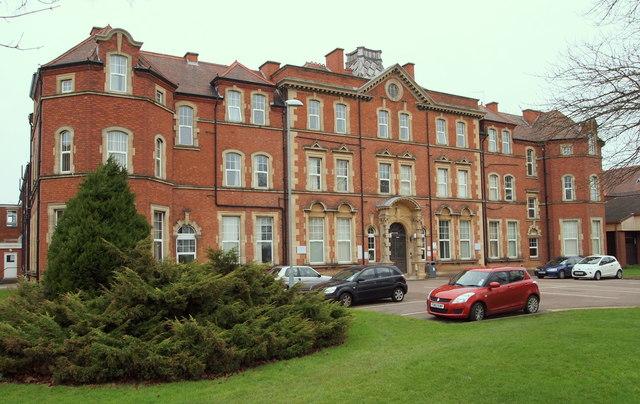 Leicester General Hospital Evington 169 David Hallam