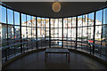 TQ7407 : Curved window, De La Warr Pavilion by Julian P Guffogg