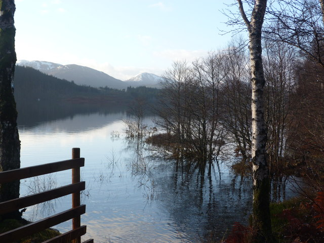 Loch Garry near Allt a' Bhiora