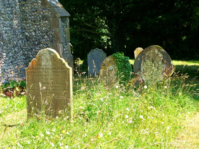 Gravestones, Bodle Street Green