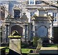 NJ9406 : 17th Century monuments, St Nicholas' Kirkyard, Aberdeen by Bill Harrison